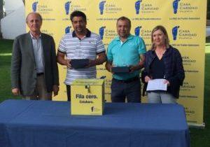 XII Torneo Solidario_Casa Caridad_ Valentín y Andrés Alejo_ganadores